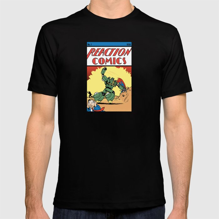 Reaction Comics T-shirt