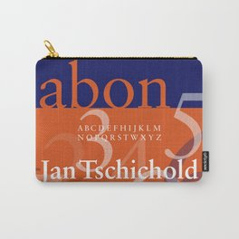 Sabon Typography Poster Carry-All Pouch