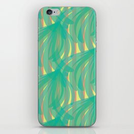 trippy leaves in the breeze iPhone Skin