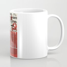 Russia, URSS Vintage Poster, Lenin, Newspaper Coffee Mug