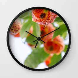 Floral 20 Wall Clock