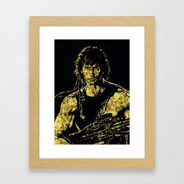John Rambo - The Legend Framed Art Print