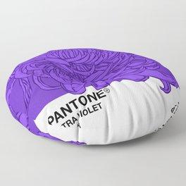 Pantone Ultra Violet 2018 Floor Pillow