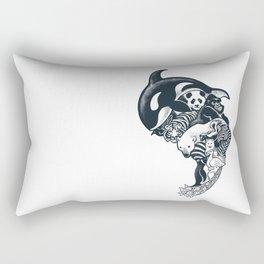 Monochromanimal Rectangular Pillow