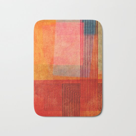 """A Morte do Velho Chico"" Inspired by the ""Quintet Amorial"" music. Bath Mat"