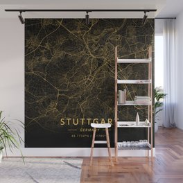 Stuttgart, Germany - Gold Wall Mural