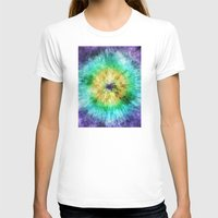 tie dye T-shirts featuring Colorful Tie Dye Graphic by Phil Perkins