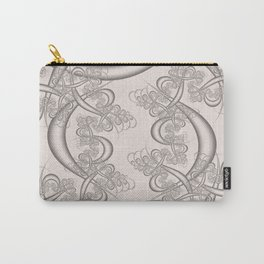 Bridal Blush Fractal Carry-All Pouch