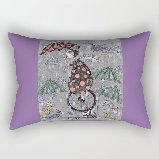 Rainbirds Rectangular Pillow