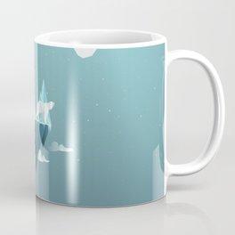 Low Poly Polar Bear Coffee Mug