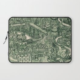 Two Cannels Laptop Sleeve