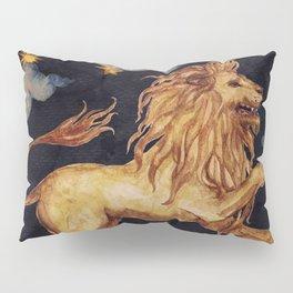 Zodiac sign Leo Pillow Sham