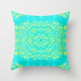 Thinking - 2 colour zest Throw Pillow