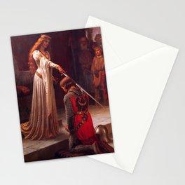 Edmund Leighton - The Accolade Stationery Cards