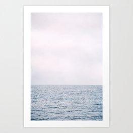 Sea and Sky Horizon Art Print
