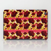 50s iPad Cases featuring 50s Roses by Marmalademudpie and Me