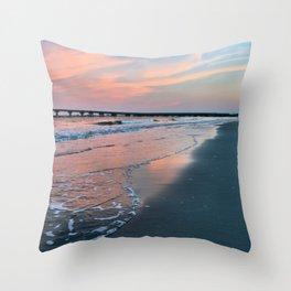 Shore Colors Throw Pillow