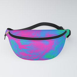 Polysexual Pride Spiky Abstract Fractal Swirls Fanny Pack