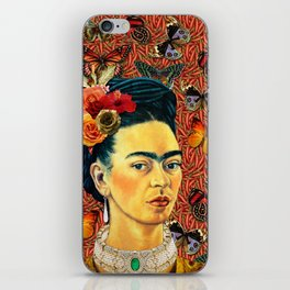 FRIDA bUTTERFLYS iPhone Skin