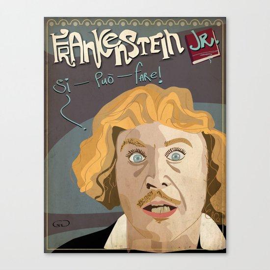 Young Frankenstein Canvas Print
