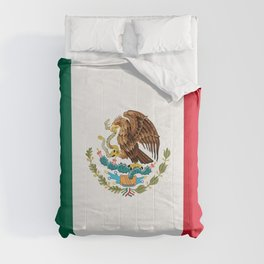 Mexican national flag Comforters