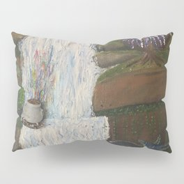 Pot of Gold on Waterfall Pillow Sham