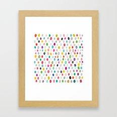 fava 5 sq Framed Art Print
