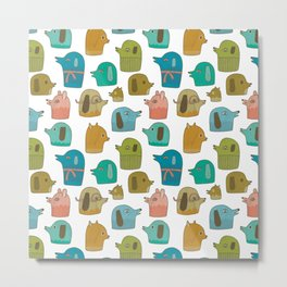 Pattern Project #30 / Dogs Metal Print
