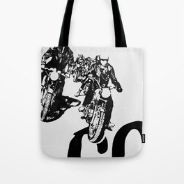 The Horde Motorcycle Art Print Tote Bag