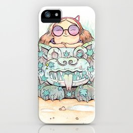 Ancient cats iPhone Case