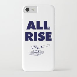ALL RISE! Aaron Judge Yankees iPhone Case