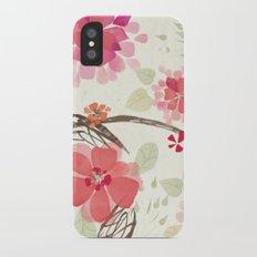 Flora Queen iPhone X Slim Case