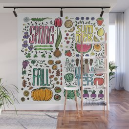 Seasons Wall Mural