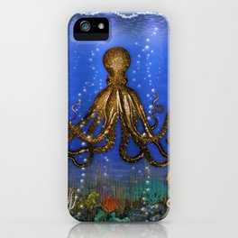 Octopus' Lair - colorful iPhone Case