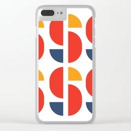 Bauhaus Repetition Joschmi Xants Clear iPhone Case