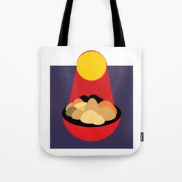 Mountain Under the Sun Tote Bag