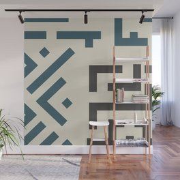 African Tribal Pattern No. 58 Wall Mural