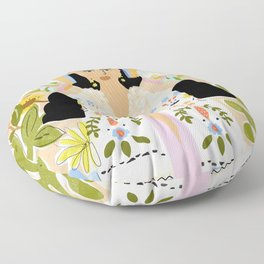 I Want To See The Beauty In The World Floor Pillow