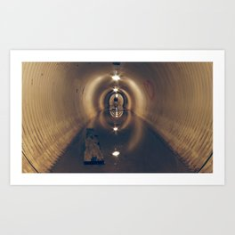 Tunnel of Love Art Print