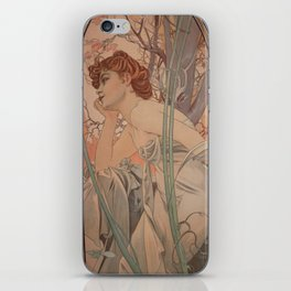 Alfonse Mucha HF2 iPhone Skin