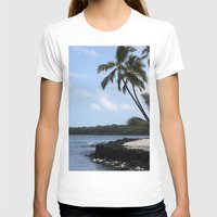 palms T-shirts featuring Palms by Whitebird Photography
