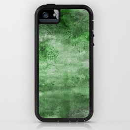 Mystery of the Forest - Acrylic mixed media painting iPhone Case