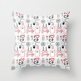 CrossFit Love Throw Pillow