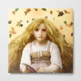 Once Upon an Autumn Day Metal Print