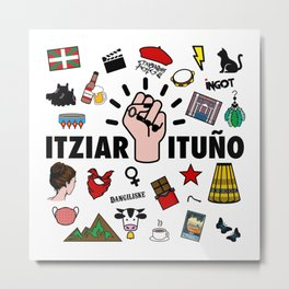 itziar ituño Metal Print