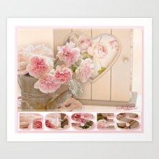 The Art of Roses  Art Print