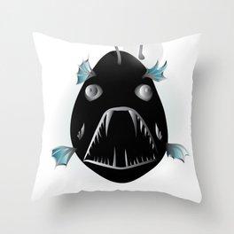 Angler Fish Throw Pillow