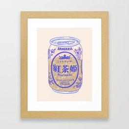 Royal Tea Framed Art Print