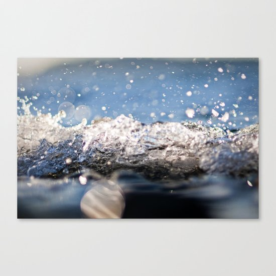 Water Splash Canvas Print