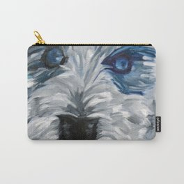 Sweet Pea Dog Portrait Carry-All Pouch